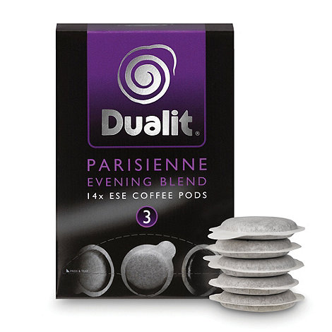 Dualit - +Parisienne Evening Blend+ coffee pods - 14 servings