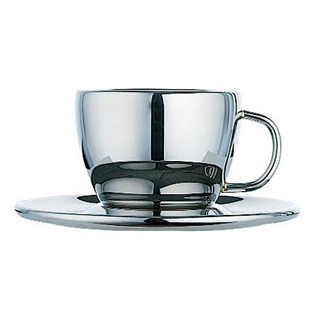 Dualit - +Cool Wall+ stainless steel espresso cup
