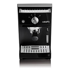 Krups - Black traditional espresso coffee machine XP5210