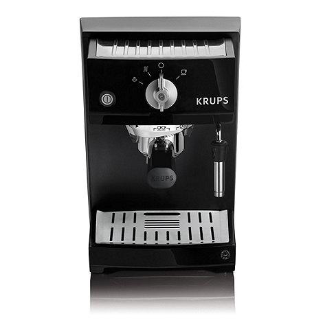 Krups - Black traditional espresso coffee machine XP5210
