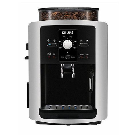 Krups - Espresseria Automatic EA8005 Silver/ Black bean-to-cup coffee machine