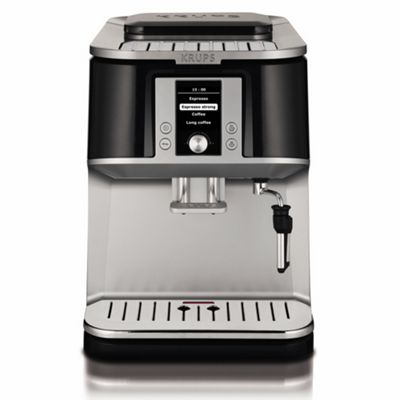 Krups Coffee Maker Debenhams : Krups Black Falcon EA8320 bean-to-cup coffee machine- Debenhams