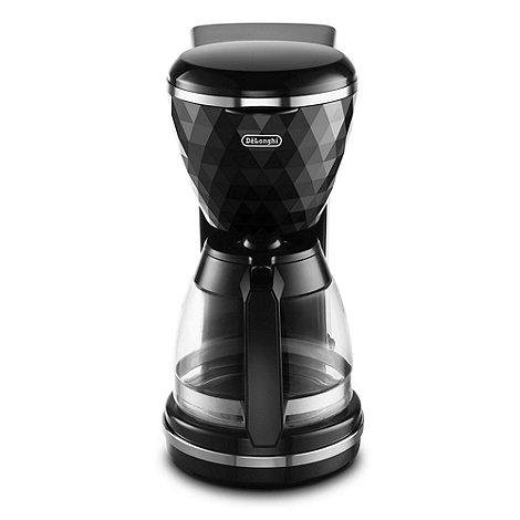 DeLonghi - Black +Brilliante+ ICMJ210.BK filter coffee machine