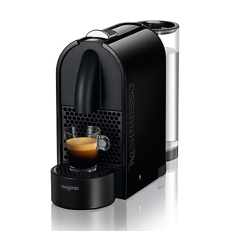 Nespresso - Black +U+ coffee machine by Krups 11340