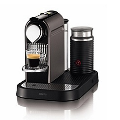 Krups - Nespresso 'Citiz & Milk' XN730T40 Titanium coffee machine with Aeroccino by Krups