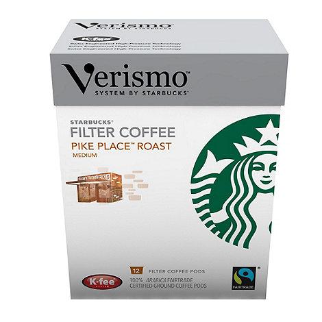 Starbucks - Verismo Fairtrade +Pike Place Roast+ Brewed Coffee Pods