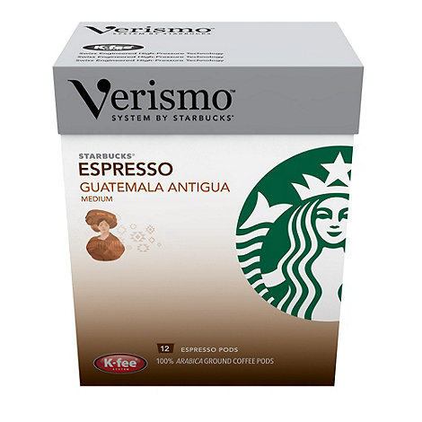 Starbucks - Verismo +Guatemala Antigua Espresso+ Coffee Pods