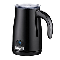 Dualit - Black cordless milk frother 84145