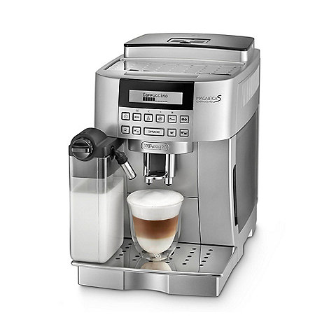 DeLonghi - Bean to cup +Magnifica ECAM 22.360 S+ coffee machine with milk solution