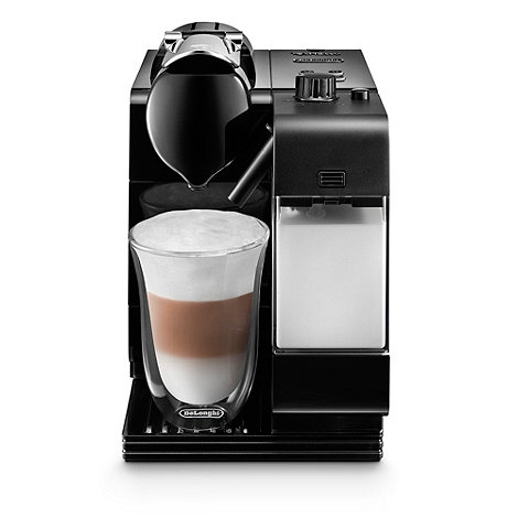 DeLonghi - Black Nespresso +Lattissima++ coffee machine EN520.B