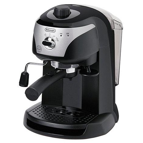 DeLonghi - Black +Motivo+ ECC220.B espresso coffee machine