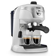 Delonghi white 'Motivo' ECC220.W espresso coffee machine