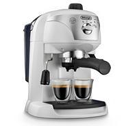 Delonghi white 'Motivo' ECC220.W espresso coffee machine