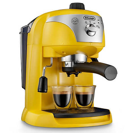 DeLonghi - Yellow 'Motivo' ECC220.Y espresso coffee machine