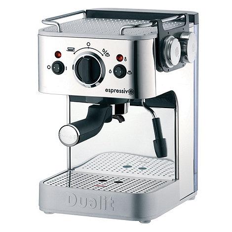 Dualit - 3-in-1 espressivo pump espresso coffee machine 84360