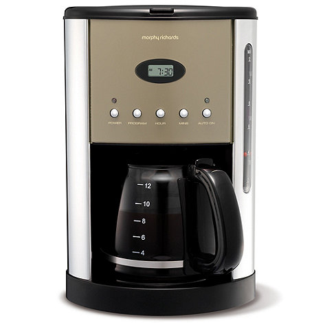 Morphy Richards - Barley +Accents+ coffee maker - Exclusive to Debenhams 162020