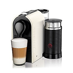 Krups - Cream Nespresso 'U' & Milk coffee machine XN260140