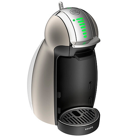 Krups - Dolce Gusto KP160T40 Titanium Genio coffee machine by Krups