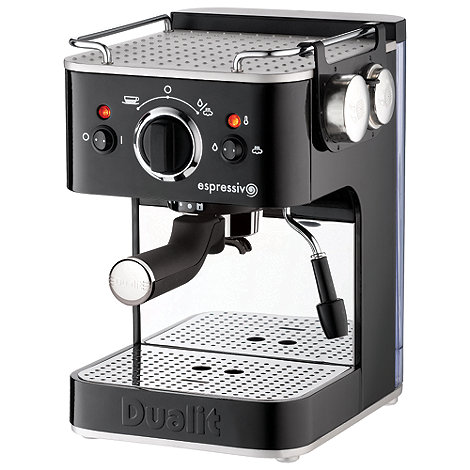 Dualit - 'Espressivo' 84365 espresso coffee machine
