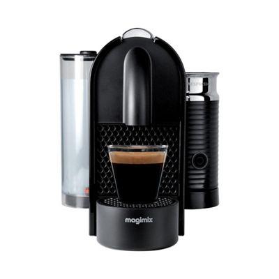 nespresso black u0027u u0026 milku0027 coffee machine by magimix