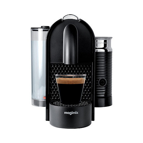 Magimix - Black Nespresso +U&Milk+ coffee maker 11344