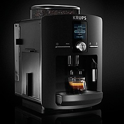Krups - Black Espresseria coffee machine EA8258