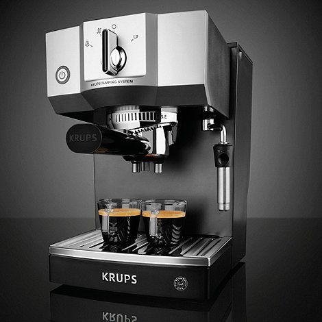 Krups - Black +Pump+ espresso coffee machine XP5620