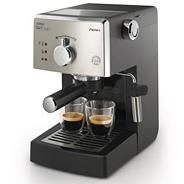 Philips black 'Saeco Poemia' coffee machine HD8323/08
