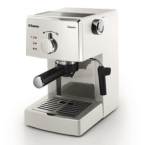 Philips - White +Saeco Poemia+ coffee machine HD8323/88