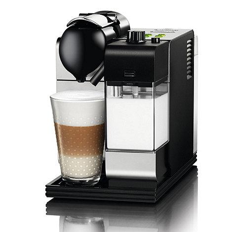 DeLonghi - Nespresso +Lattissima++ EN520.S Silver coffee machine by