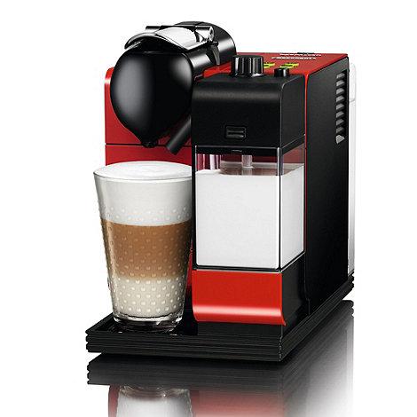 DeLonghi - Nespresso +Lattissima++ EN520.R Red coffee machine by