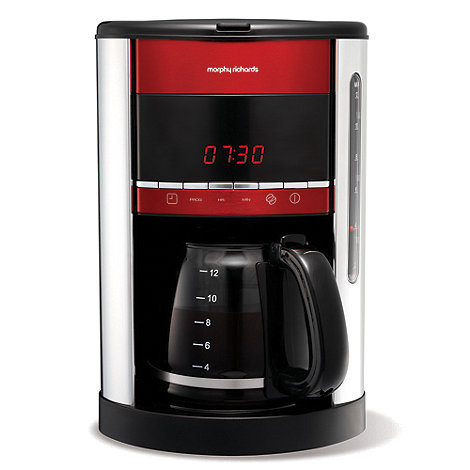 Morphy Richards - Red +Accents+ coffee maker 47089