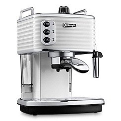 DeLonghi - White Scultura ECZ351.W coffee machine