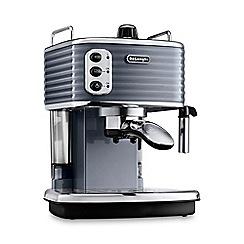 DeLonghi - Gunmetal 'Scultura' espresso coffee machine ECZ351.GY