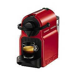 Krups - Red Nespresso 'Inissia' coffee machine XN100540