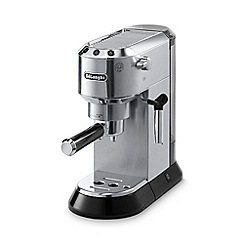 DeLonghi - Stainless steel 'Dedica' espresso coffee machine EC680.M