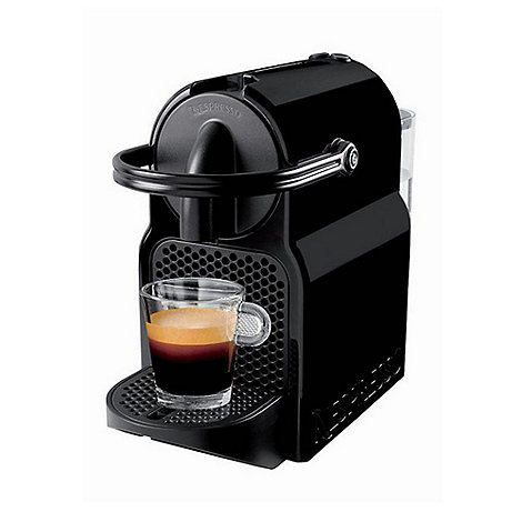 nespresso black 39 inissia 39 coffee machine by magimix 11350 debenhams. Black Bedroom Furniture Sets. Home Design Ideas