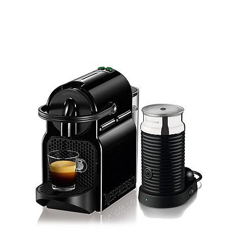 Nespresso - Black +Inissia+ coffee machine by Magimix 11360