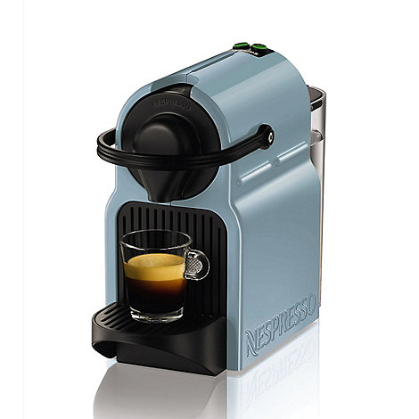 Nespresso - Blue +Inissia+ coffee machine by Krups XN100440