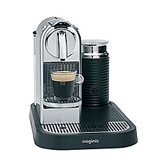 Nespresso - Chrome 'Citiz & Milk' coffee machine by Magimix 11307