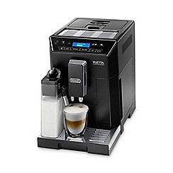 DeLonghi - Black Nespresso Eletta Cappuccino bean to cup coffee machine ECAM44.660.B
