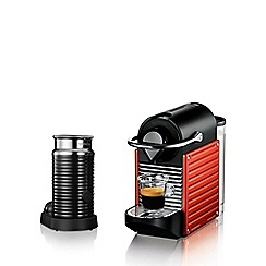 Krups - Debenhams Exclusive:  Nespresso Pixie Red XN301540 coffee machine
