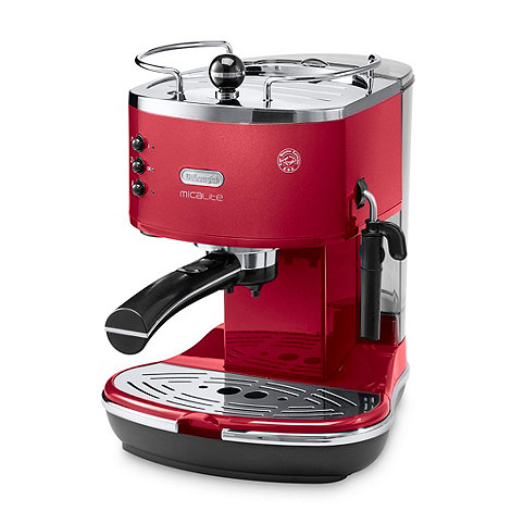 DeLonghi - Red ECOM310.R MicaLite pump espresso coffee machine