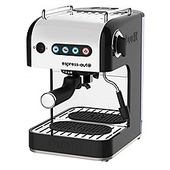 Dualit - Black 84515 express auto 3-in-1 coffee machine with milk frothing jug