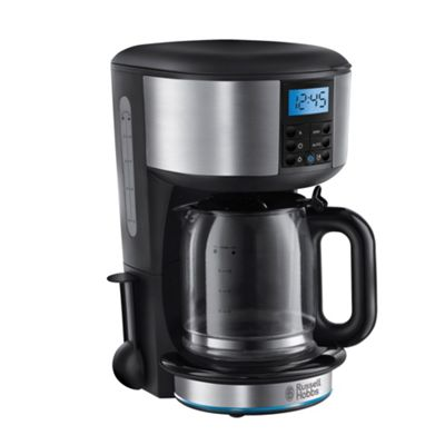 Debenhams Coffee Maker Cm2bs : Russell Hobbs Black Buckingham digital filter coffee maker 20680-56 Debenhams