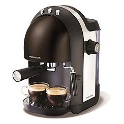 Morphy Richards - Black accents espresso coffee maker 172002