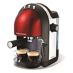 Morphy Richards - Black accents espresso coffee maker 172003