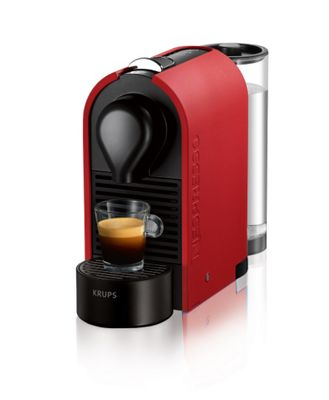 Krups Coffee Maker Debenhams : Krups Matte red Nespresso U coffee machine XN250540 Debenhams
