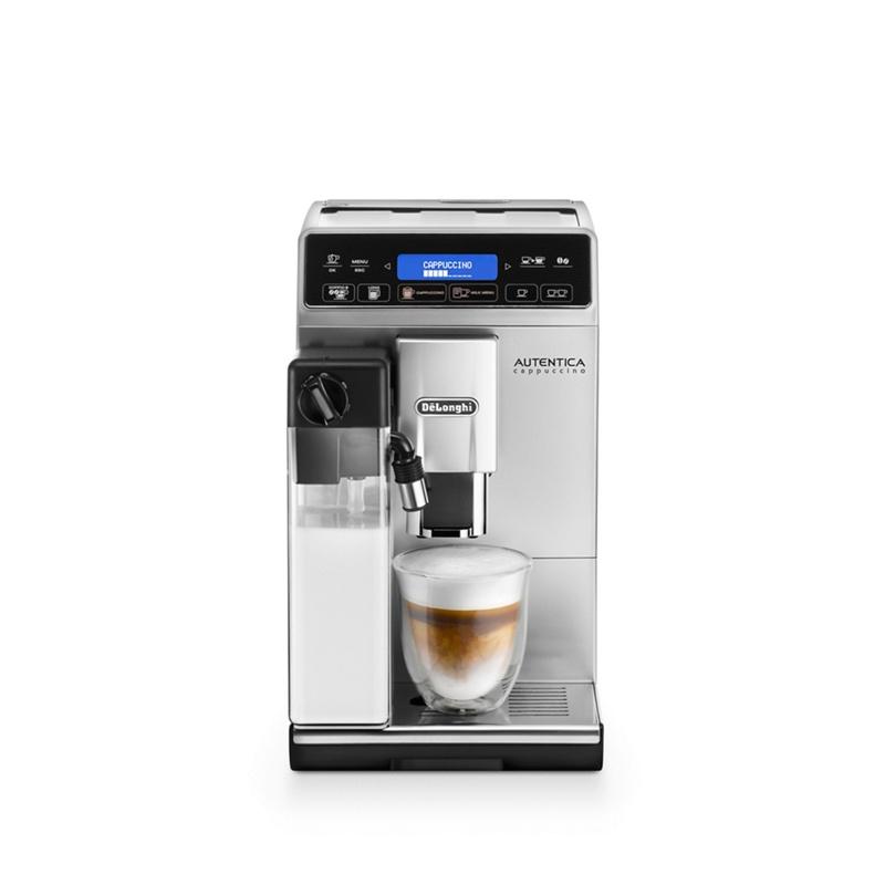 DeLonghi Autentica cappuccino bean to cup coffee machine ETAM29.660.SB, Silver