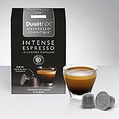Dualit - Nespresso Compatible NX Coffee Capsules Intense